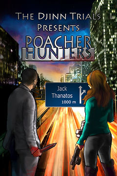 Poacher Hunters Front Cover