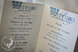 Wedding Event Program Info