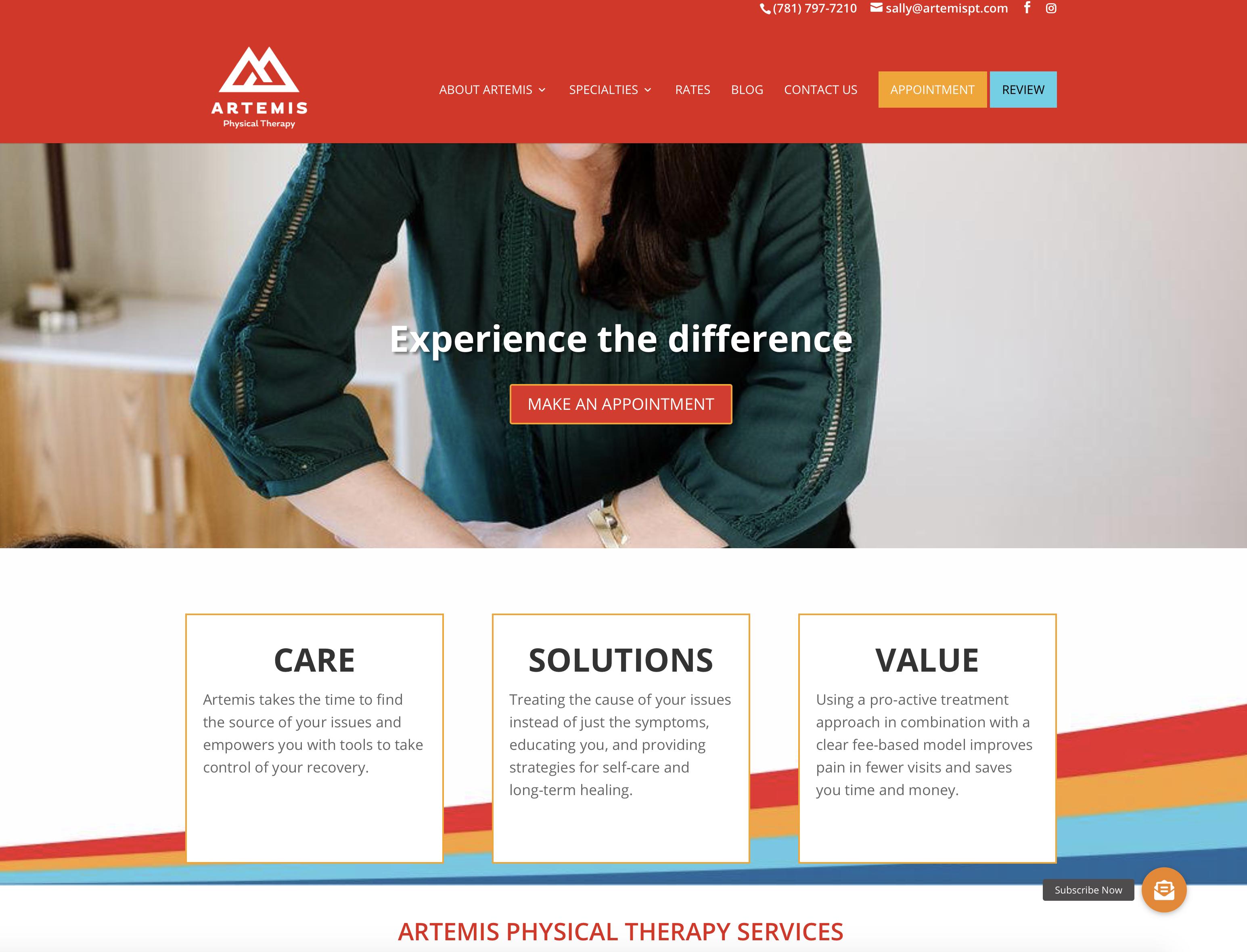 Artemis PT.com