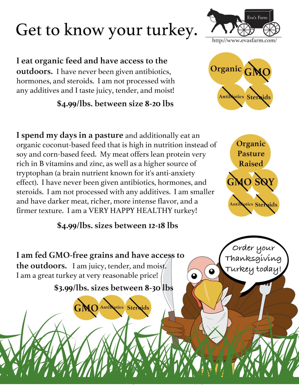 Eva's Farm Campaign Social & Flyer