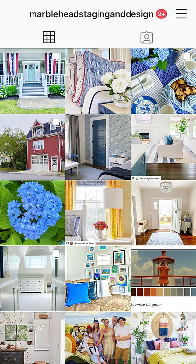 Marblehead Staging and Design Instagram.
