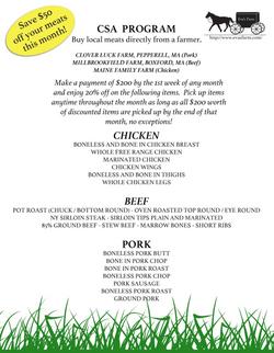 Eva's Farm email & Flyer