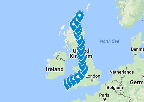uk route map
