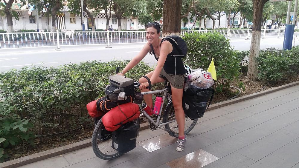 bicycle touring china