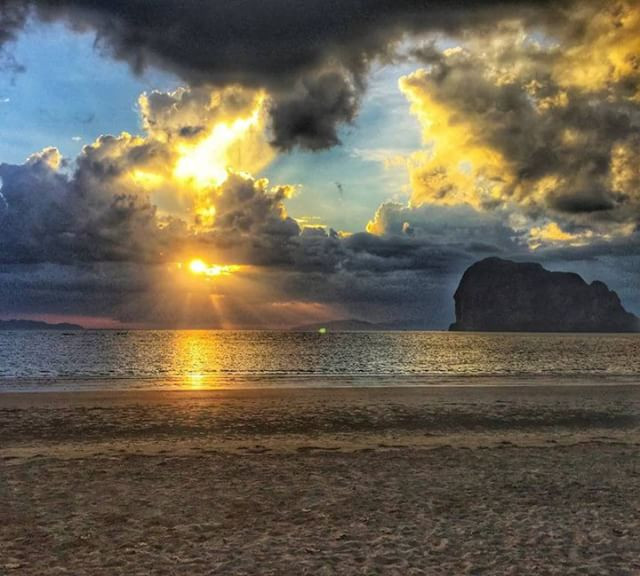 beach near Krabi Thailand