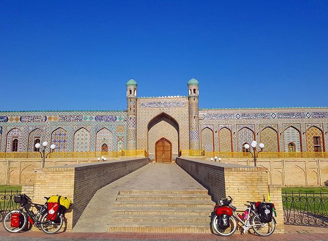 bicycle touring Uzbekistan