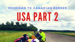 USA Michigan to Canadian Border