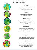 ted web badges
