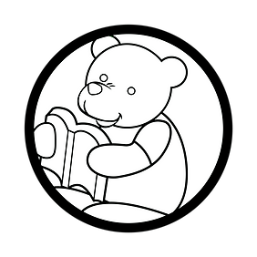 coloring page storyteller