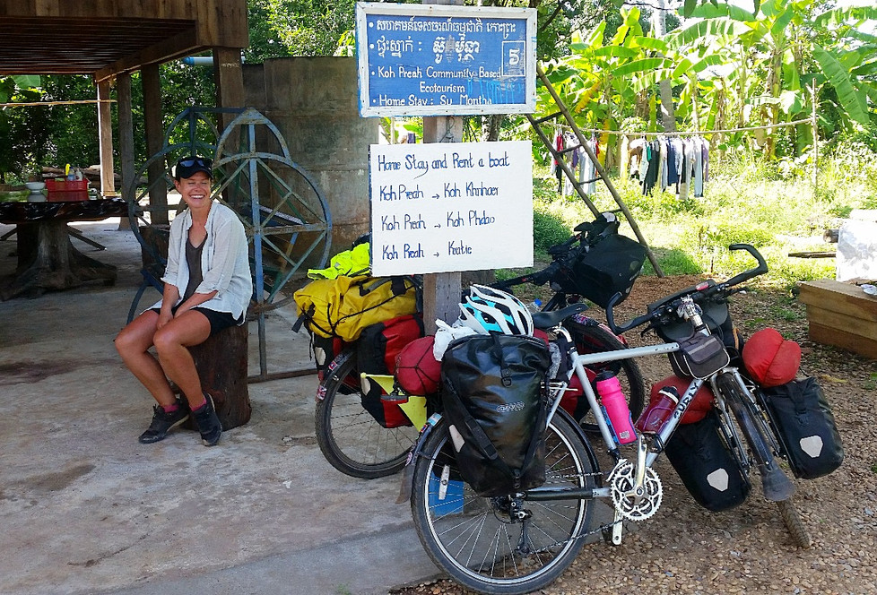 CAMBODIAN ADVENTURE: THE MEKONG DISCOVERY TRAIL BY BIKE
