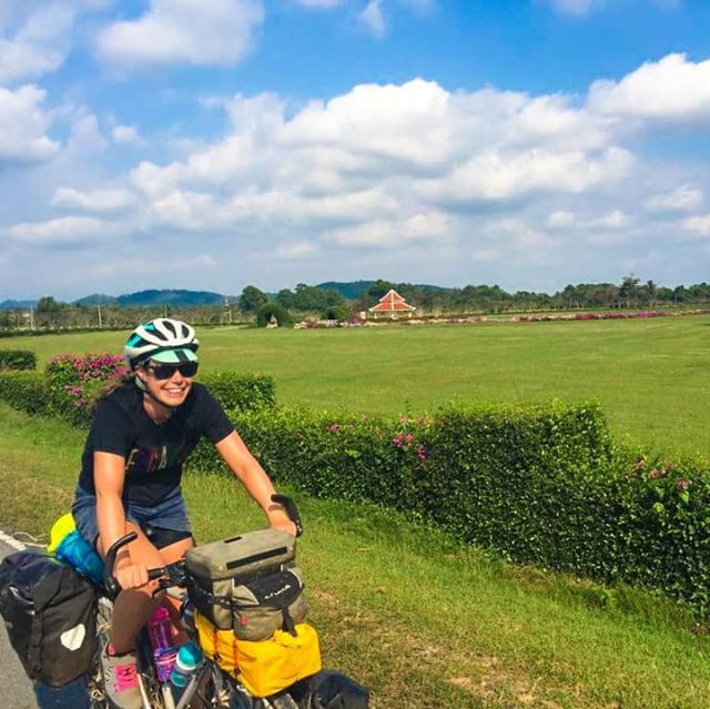 flat cycling in Thailand