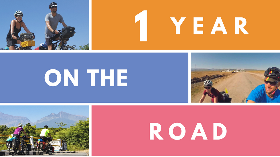 ONE YEAR ON THE ROAD