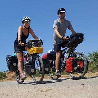 Bicycle touring Lombok