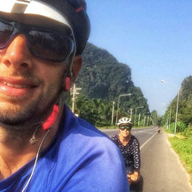 Bicycle touring Thailand