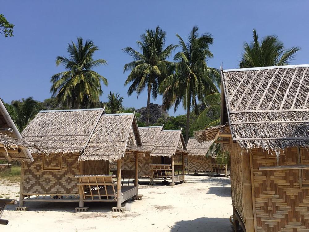 Horseshoe island myanmar bungalows