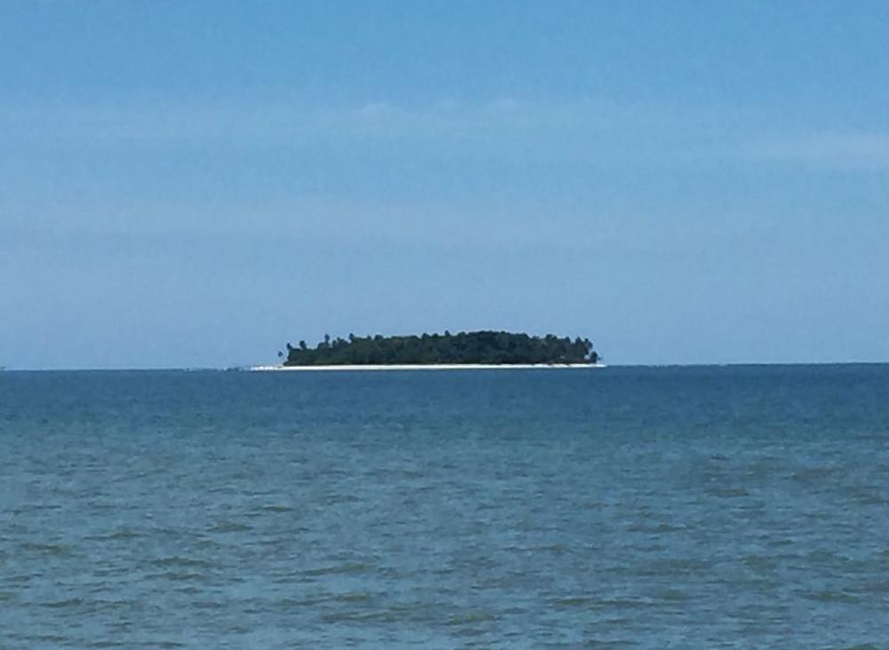 island off coast of Pariaman