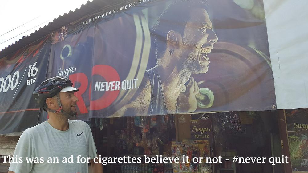 cigarette advertising indonesia