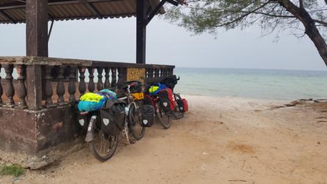 bicycle touring Cambodia