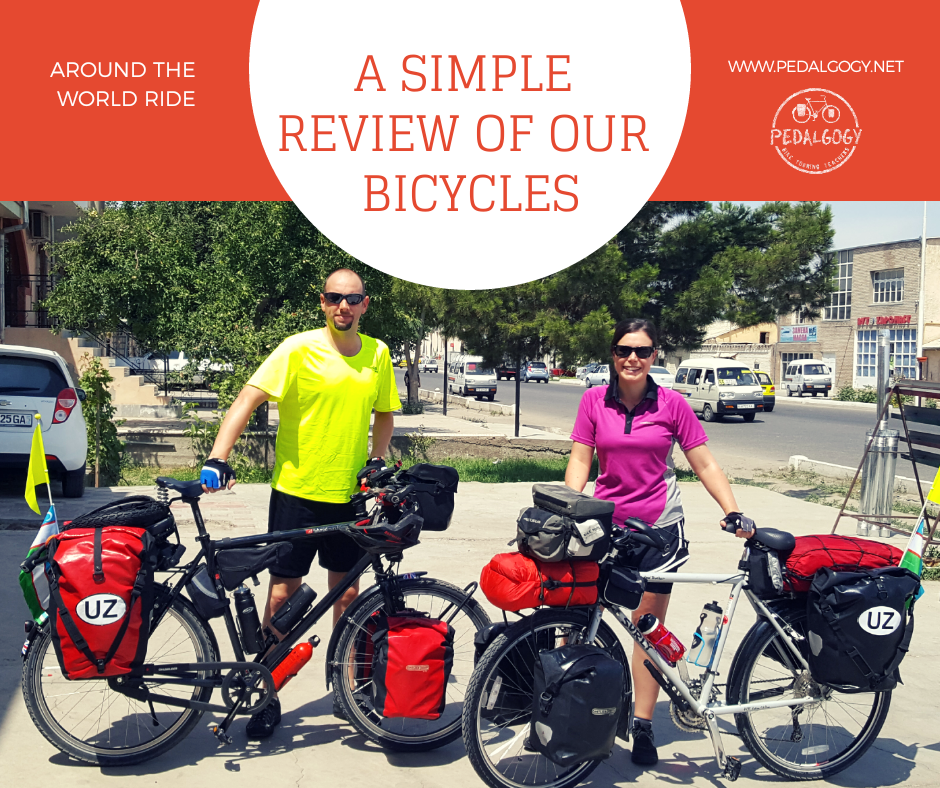 A SIMPLE REVIEW OF OUR BICYCLES