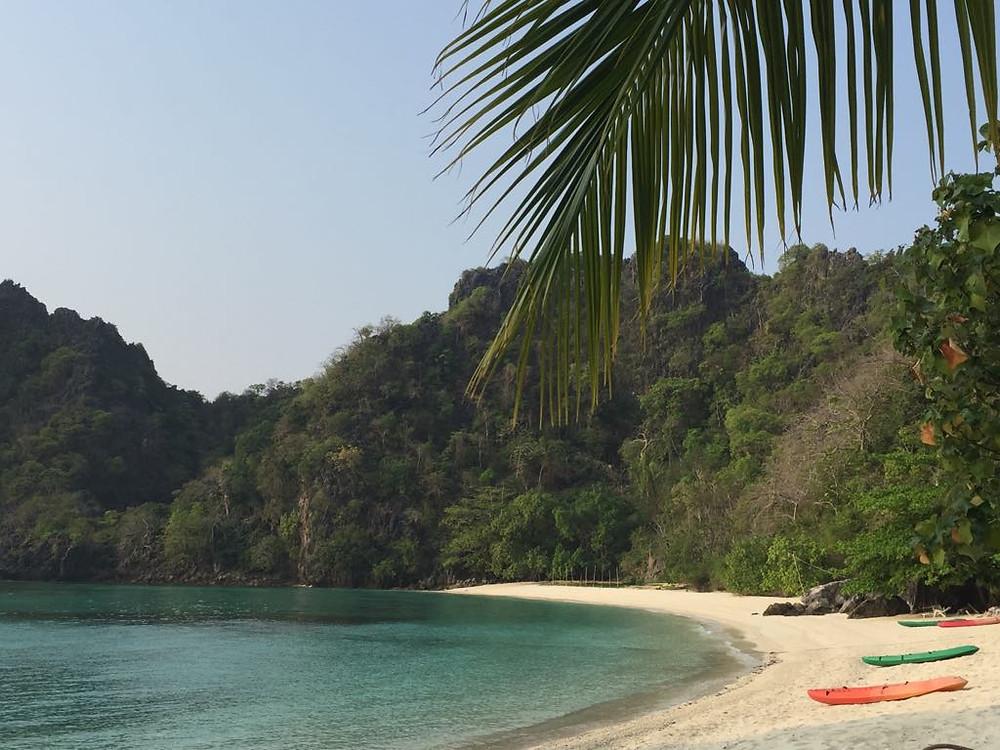 horseshoe island myanmar