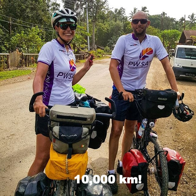 we reached 10,000km