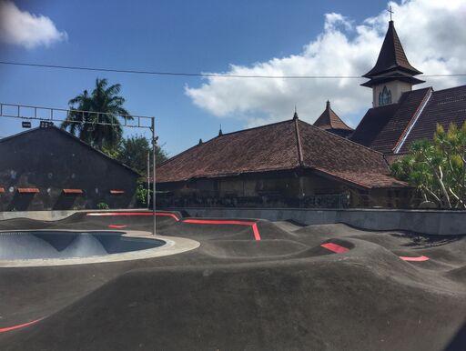 Bicycle touring Bali