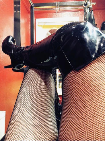 FISH NETS AND BOOTS