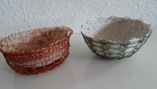 Paper/Wire mini bowls