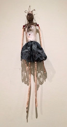 Tree Spirit Bark Figure