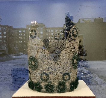 Lucia Crown for American Swedish Institute Holiday Show 2019