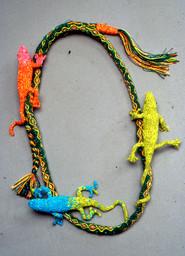 Snake & Lizard Necklace