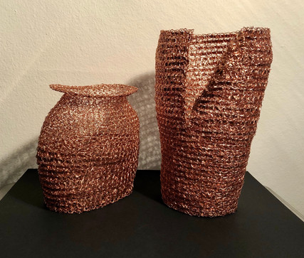 Pair of Copper Vessels
