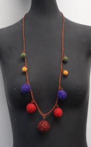 Felt Necklace 1