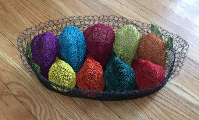 Basket of Cacao Pods