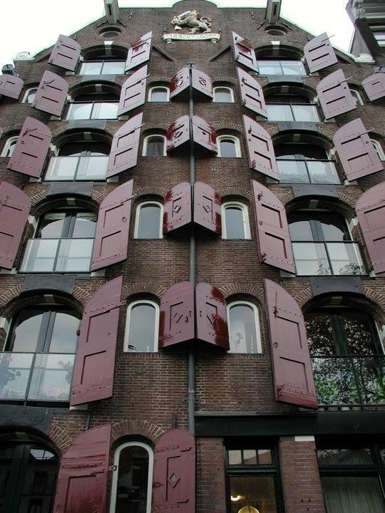 Shutters in Amsterdam