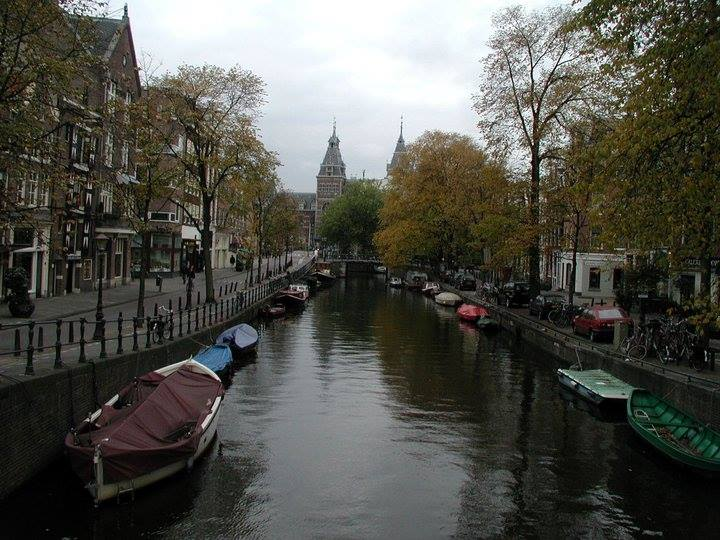 Amsterdam Canal-boats