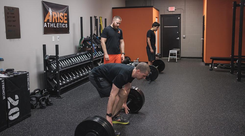 Colton coaching deadlift
