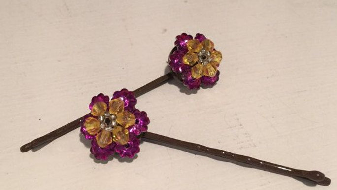 hair jewelry  barrettes and clips