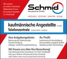 Anzeige Job - 2 spaltig - Hoehe 79mm - f