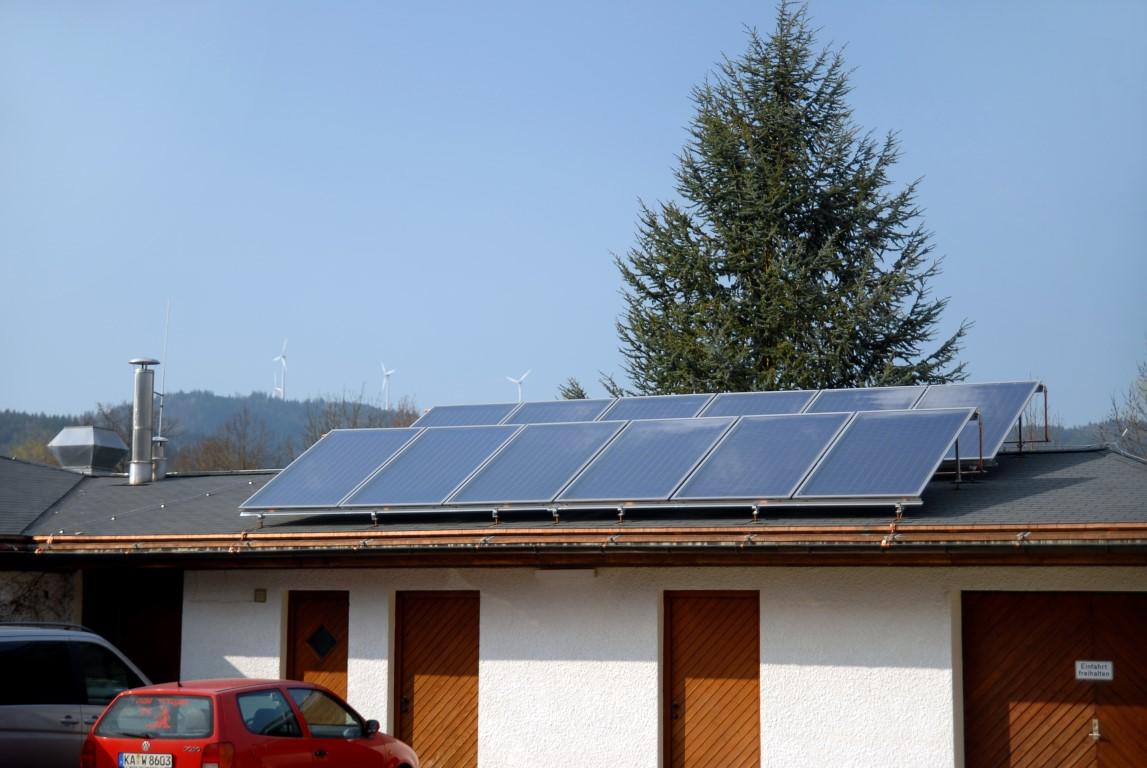 Thermische Solaranlage Golfclub