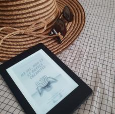 Les e-books que j'emmène dans ma valise !