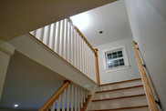 Previously unfinished attic space finished to include new master suite