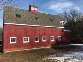 Barn addition and renovation