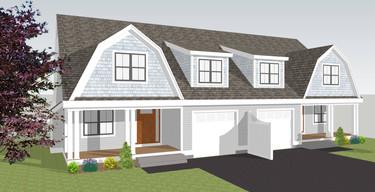 Rendering of duplex by BDBD Homes