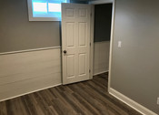 Finished basement (office space)