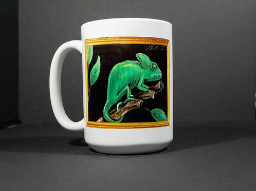 Chameleon Art Mug