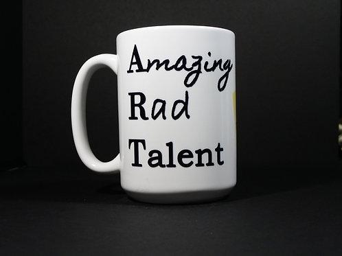 Black A. R. T. mug