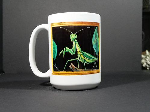 Pray Mantis Art Mug