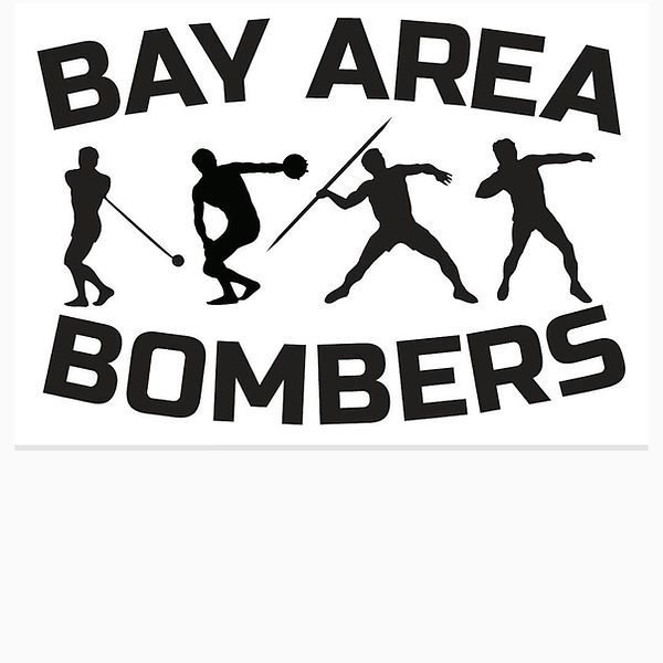 Bay Area Bombers throwing club discus sh
