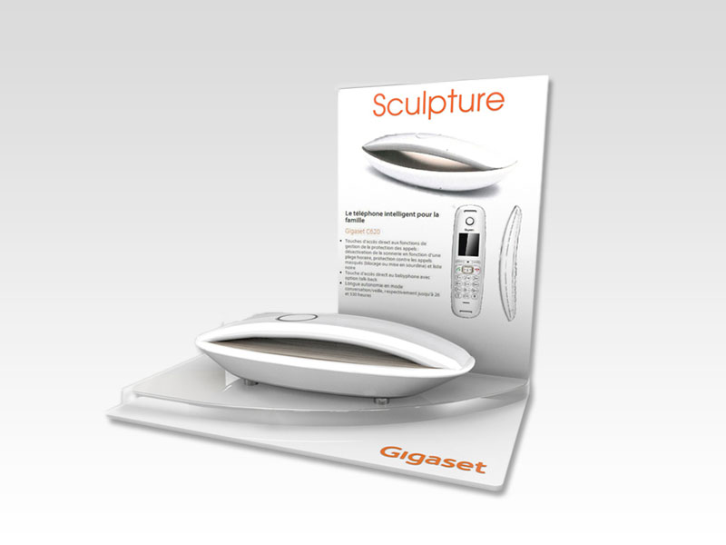 Countertop display - 3D